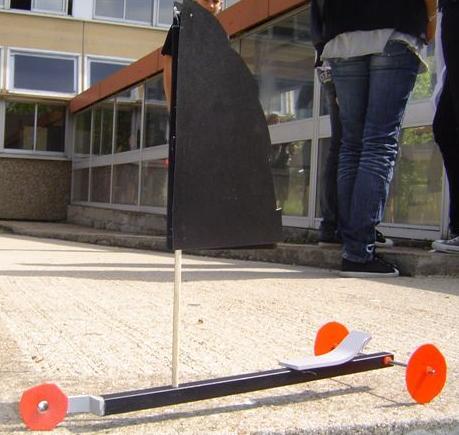 Les Eleves De 6eme Font Leurs Chars A Voile College Professeur Marcel Dargent